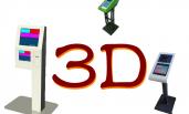 Stampa 3D distributore di biglietti